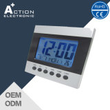 Rcc-Dcf Weather Station Digital Table Clock com horário mundial