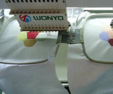 새로운 디자인 Wonyo 2개의 헤드 모자 자수 기계 부속