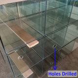 De duurzame Tank van de Vissen van de Aquicultuur van het Glas met het Boren van Gaten