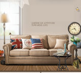 Американская софа ткани типа страны для живущий мебели M3001 комнаты