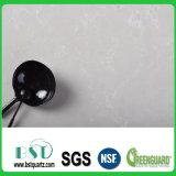 Kundenspezifische Perlen-weiße Quarz-Stein-Platte für Speisetisch-Oberseite