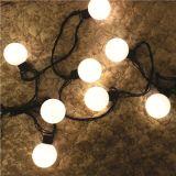 Wasserdichtes multi Zeichenkette-Licht-feenhaftes Zeichenkette-Licht der Farben-Kugel-Form-LED für Weihnachten Deco