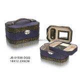 Caja de Joyería de Oro de Grano del Cocodrilo Superior