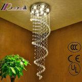 会議室の贅沢で明確な水晶ランプのハングの天井灯