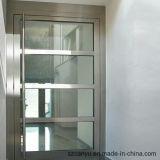 Porte en aluminium en verre de bâti de meubles à la maison