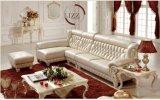 北欧のヨーロッパデザイン革仕事場のソファー