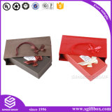 Rectángulo de regalo de papel brillante de encargo del nuevo diseño para empaquetar