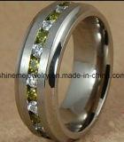 Ring de Van uitstekende kwaliteit van het Titanium van Jewellry van het Lichaam van de Juwelen van Shineme (TR1851)