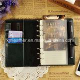 Ordinateur portable A5 en cuir véritable journal en gros