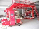 Machine d'impression à grande vitesse de Flexo de papier de roulis