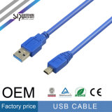 Sipu продает кабель оптом USB даты для кабеля заряжателя мобильного телефона