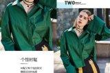 Глубоко - рубашка повелительниц втулки зеленого способа весны свободная