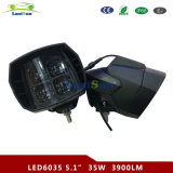 "LED6035 5.5 ""Inch IP67 Luz de trabalho LED 12V 35W High Beam Motorcycle Driving Light"