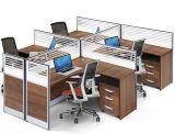 Stazione di lavoro di legno del personale dell'impiegato del gruppo di terminali del divisorio dell'ufficio del MDF (HX-NCD095)
