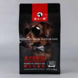 De geavanceerde Plastic Verpakkende Zak van het Voedsel voor huisdieren met Ritssluiting