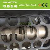 Macchina di plastica della trinciatrice utilizzata singola asta cilindrica del barilotto dei pp