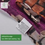 Heiße Form-Dame Viscose Scarf des Verkaufs-2017 mit Retro Ziegelstein gedrucktem Schal