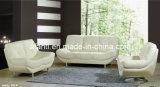 普及した、快適な居間の家具の白革の部門別のソファー(877)