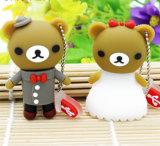 Azionamento animale della penna del USB del PVC dell'azionamento dell'istantaneo del USB dell'orso