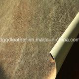 Chaussures en cuir de PU recto-verso (QDL-SP025)