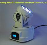 熱い販売7PCS*10W RGBW小型LED移動ヘッドライト