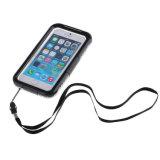 Cas de couverture de pluie de téléphone mobile d'épreuve de l'eau pour l'iPhone 7
