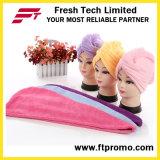 Выдвиженческие волосы суша крышку ливня Microfiber с логосом