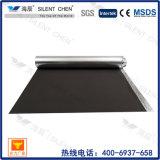 Suporte de espuma de piso sólido em bambu laminado com papel alumínio
