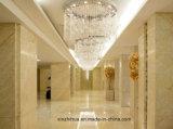 Marmo dorato per le mattonelle, controsoffitto, parete del ragno con colore dei lussi, Marbletile beige crema