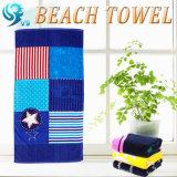 正方形の形の綿のビーチタオル