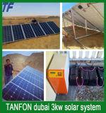 sistema solare della famiglia di 2kw 3kw