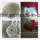 litière du chat de bentonite de bille de 1-3.5mm pour le nettoyage de chat