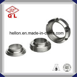 高品質のナットが付いている衛生ステンレス鋼の管付属品連合