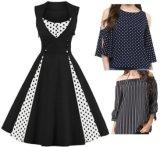 Lady Mesdames Nouveau Design Fashion femmes le coton de femmes fête de mariage occasionnels soirée Vêtements Vêtements Blouse robes robe de vêtements d'usure