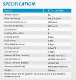 Kcmco-Kct-1245wz 1.2-4mm весна CNC 12 осей Camless многофункциональная формируя пружину кручения Machine&Tension/делая машину