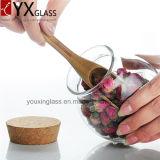 загерметизированное стекло высокого качества 500ml консервирует опарник бутылочного стекла мха бака для хранения собрания большой с баком деревянной крышки герметичным