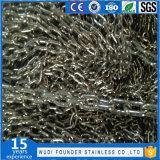 Chaîne de tige de l'acier inoxydable (DIN766)