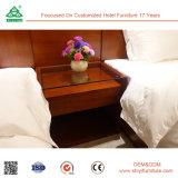 Drie Reeksen van het Meubilair van de Zaal van het Hotel van Sterren met Bed en Garderobe