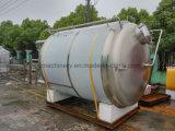 El tanque que pela del acero inoxidable de la alta calidad