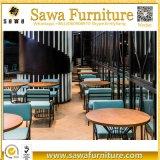 Cabinas para la venta, sillas de la barra, vector del restaurante de cena extensible
