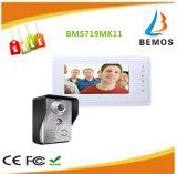 7インチのビデオDoorphoneキットの1カメラの1モニタの夜間視界の通話装置