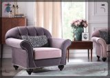 Sofa en gros S1707 de tissu de promotion de sofa
