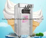 3개의 취향 좋은 품질을%s 가진 소프트 아이스크림 기계