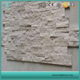 En bois blanc en marbre blanc en marbre/bois/Pierre de la culture de marbre blanc