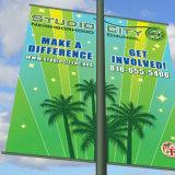 Kundenspezifische Entwurfs-Qualitäts-Gewebe-Fahne für Bildschirmanzeige