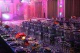 수정같은 수지 공간 연회 의자 현대 식사 가구 결혼식 사건 공간 의자