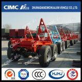 Cimc de Trein van de Aanhangwagen van de Lading van het Type van Uitvoer met de Aanhangwagen van de Dolly