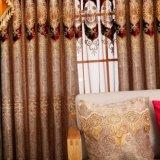 Tela luxuoso da cortina do quarto do fabricante com retalhos