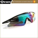 5 cores Airsoft tático ostentam vidros das forças armadas UV400