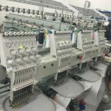 t-셔츠, 의복, 모자 자수 Wy 904c/1204c를 위한 9/12대의 바늘 4 맨 위 자수 기계이라고 전산화하는